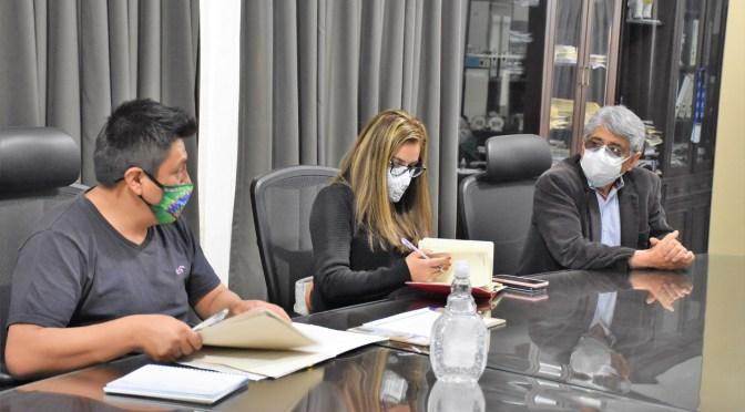 Alcalde y Viceministro de Salud acordaron fortalecer la lucha contra el Covid-19
