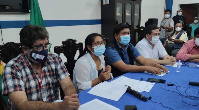 IDH y Fondo Rotatorio, los anuncios de Eva Copa en el Gran Chaco