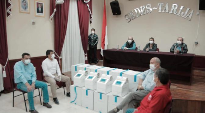 Comisión mixta: Respiradores españoles y chinos entregados a Tarija no funcionan