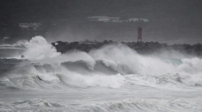 El tifón Haishen golpea Japón con vientos violentos y fuertes lluvias