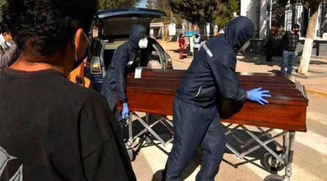 Cementerio registra más de 65 cadáveres cremados por COVID – 19