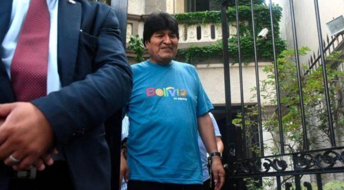 En Argentina piden interpelar a autoridades por manutención de Evo