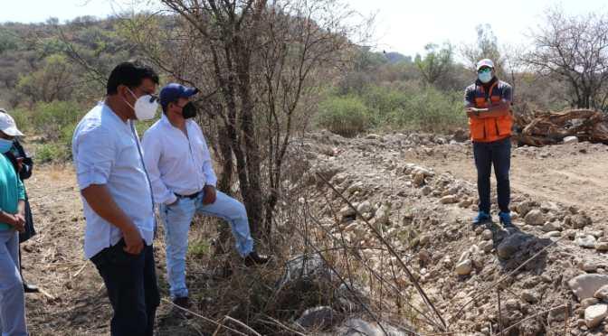 Municipio evidencia construcción ilegal de fábrica extractora de áridos en Guerrahuayco