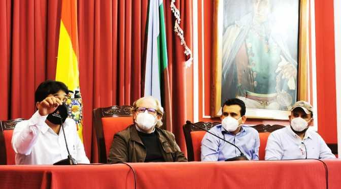 Oliva trabaja con ministerio de Hidrocarburos y Energía para solucionar demandas de Tarija