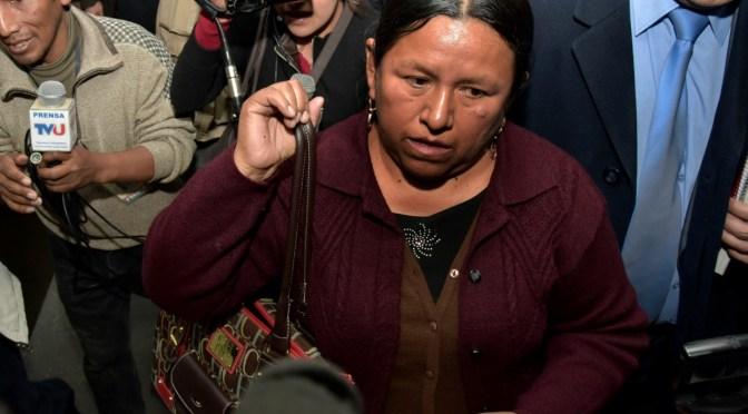 Rafael Quispe pide que se revoque la detención domiciliaria de Achacollo