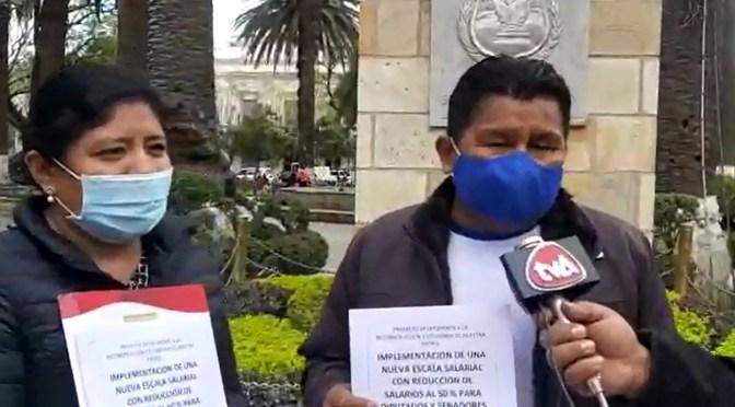 Candidatos del MAS en Tarija plantean reducción salarial para nueva gestión legislativa