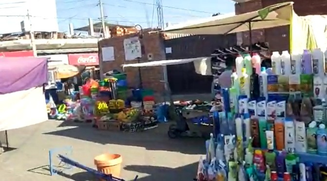 Vendedores de la feria de Tabladita dispuestos a reanudar sus actividades los fines de semana