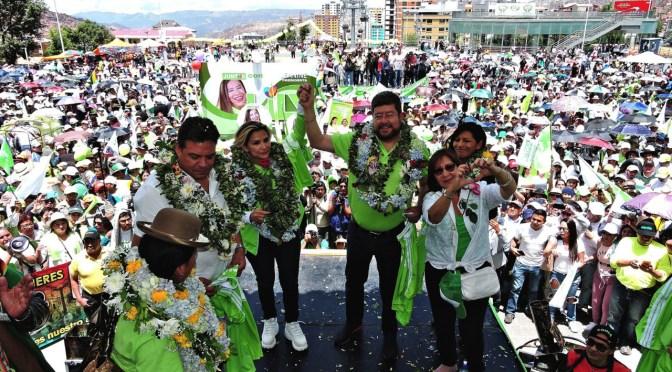 Jeanine Áñez y Samuel Doria Medina abandonan la carrera electoral 'por el bien mayor'