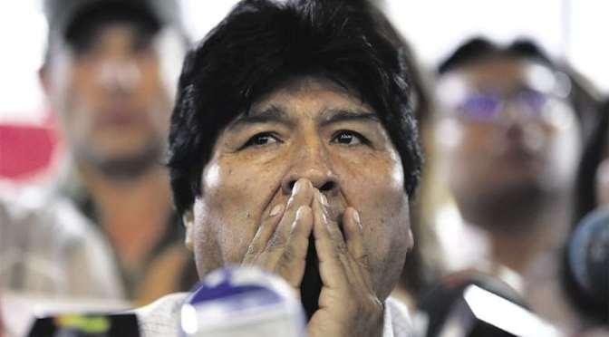 Hoy se dirime si Evo Morales queda o no habilitado como candidato a senador