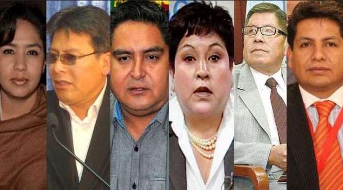 Ministro anuncia juicio contra 'masistrados' que avalaron la repostulación de Evo Morales