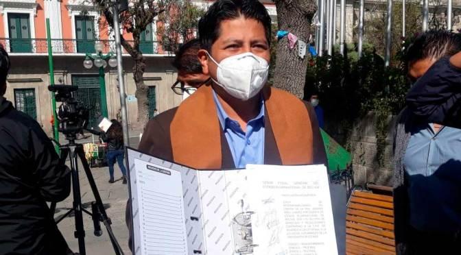 FPV denuncia a Añez para juicio de responsabilidades debido a la cuarentena total