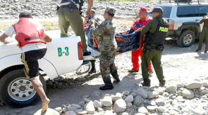 Rescatan el cadáver de un joven que se ahogó pescando en el río Bermejo