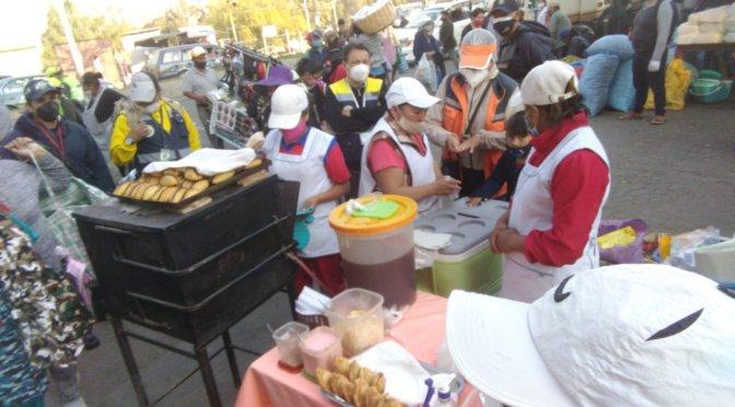 La Intendencia recuerda que está prohibida la venta de comida en recintos electorales