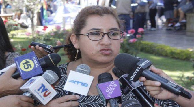 Legisladora del MAS destaca la presencia mayoritaria con 20 mujeres en la cámara alta