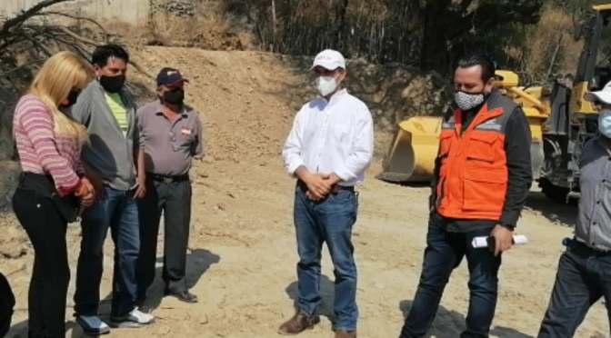 Alcaldía nivela terrenos para construir hospitales de 1er nivel en Tarija