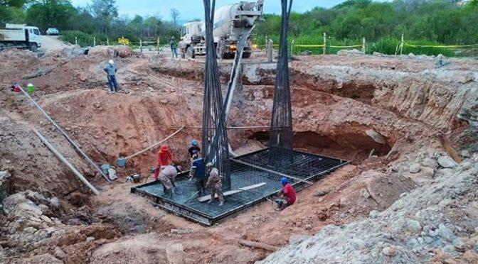 """Inician hormigonado del """"Puente Vehicular Quebrada Palmarcito"""""""