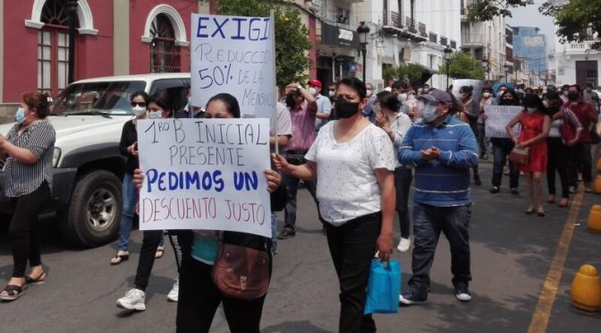La Salle: Padres de familia piden un descuento del 50% en pago de pensiones