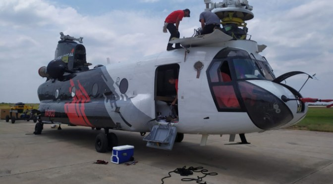 El Gobierno aclara que las operaciones del helicóptero Chinook no tienen costo para el Estado