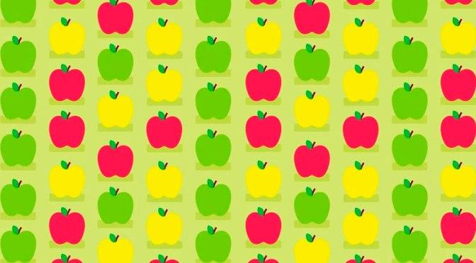 ¿Ves las tres manzanas con gusanos? El nuevo reto visual en redes sociales