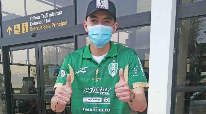 """Llega Mariano De Souza con un """"plus"""" de selección a Real Tomayapo"""