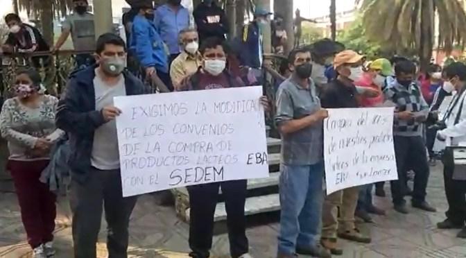 Productores lecheros de Tarija piden mayor participación en la venta de lácteos para subsidio