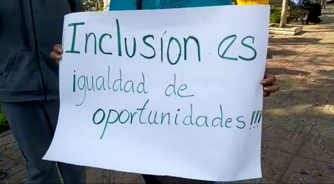 Denucian discriminación del Ministerio de Educación a niños con discapacidad de Tarija