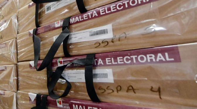 Detienen a dos personas por robo de maletas electorales en Caranavi