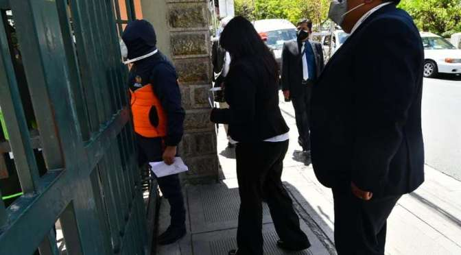 Caso fraude: jefe policial afirma que exvocal Cruz dio la orden para paralizar el TREP