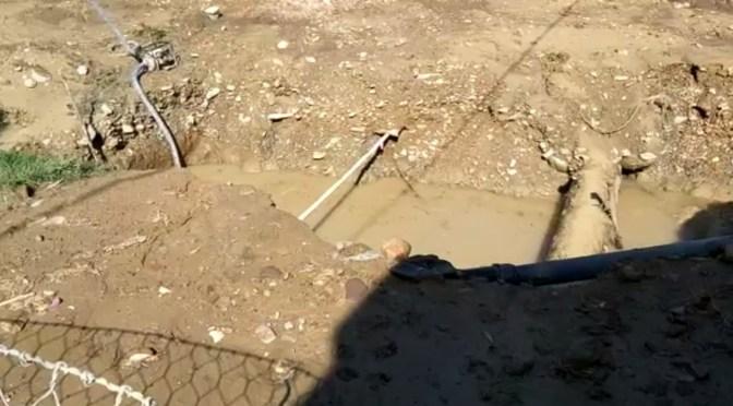 Viviendas en riesgo por excavaciones en obra paralizada en la quebrada Sagredo