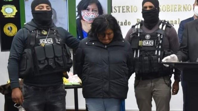 Caso Samanta: Dictan cárcel para la raptora y detención domiciliaria a sus hijos