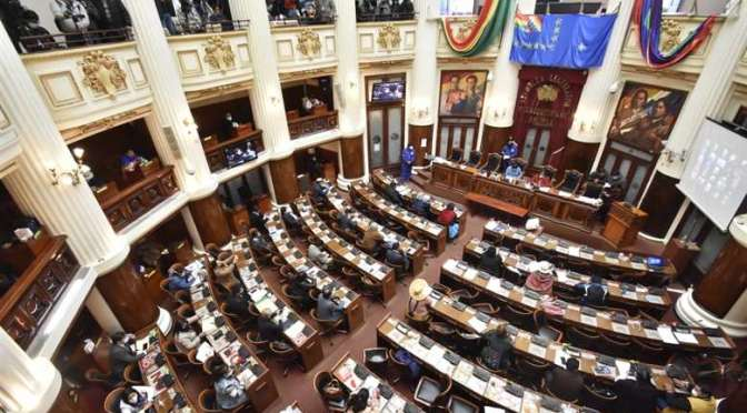 Asamblea tiene vía libre de la justicia para aprobar juicio a Áñez