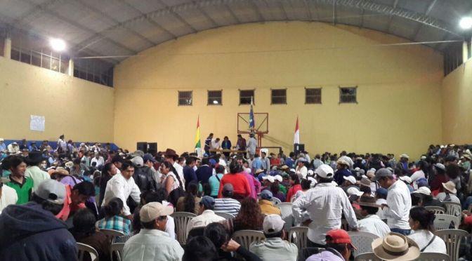 Sector campesino pide a Lema sumarse a denuncia contra exalcalde por el Fondo Indígena