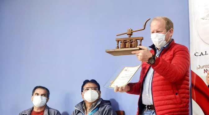 RedacDirecciones de los Hospitales destacan trabajo de Oliva a favor de la saludción Central