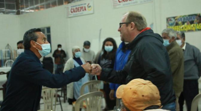 Productores que forman parte de Cadepia proclaman a Oliva Candidato a Gobernador