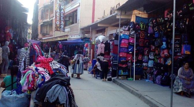 Rueda: Ingresos económicos de comerciantes en Bermejo se redujo en un 80%