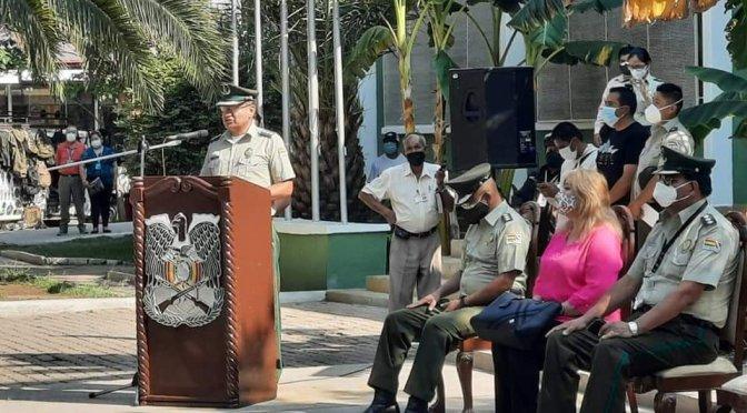 Ávila asume mando de la Policía de Tarija con el compromiso de transparentar la institución