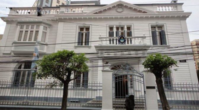 Embajada argentina pide a Cancillería de Bolivia una reunión bilateral