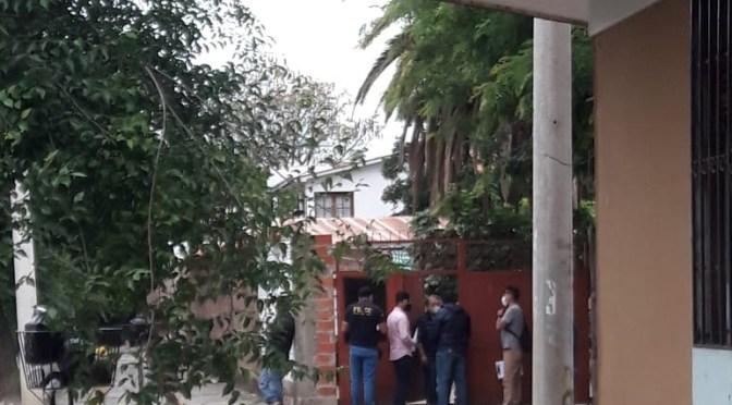 Ministerio Público requisa la casa del exministro Víctor Hugo Zamora