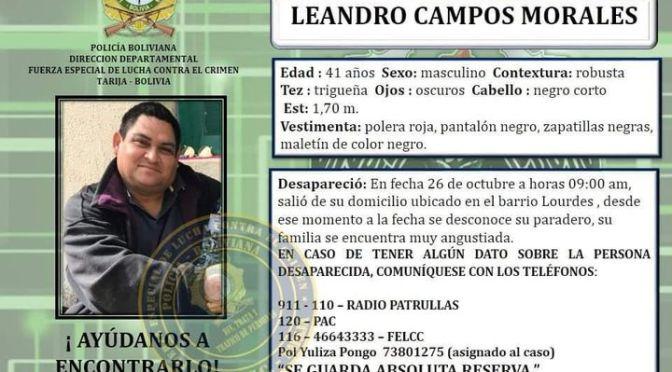 Chef desaparecido se esconde en Santa Cruz, estafó a más de 20 personas