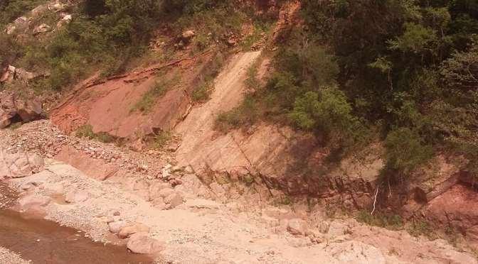 Las huellas de dinosaurios de Entre Ríos están en riesgo de deterioro por falta de preservación