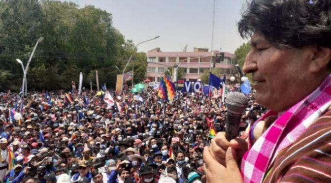 Evo en Villazón: La victoria de Arce prueba que no hubo fraude en 2019