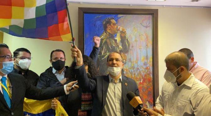 Gobierno de Maduro vuelve a tomar posesión de la Embajada de Venezuela