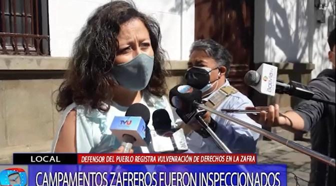 Defensoría del Pueblo Denuncia que se vulneran derechos laborales en la zafra de Bermejo
