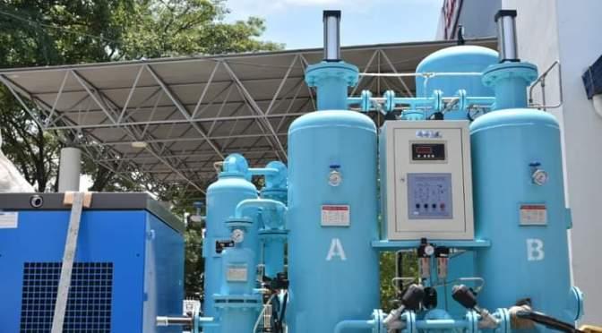 Recepcionan los equipos de la planta de generación de oxígeno