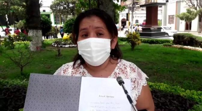 Habilitan libro de firmas para solicitud del bono contra el hambre