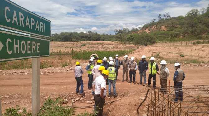 ABC inspecciona junto al transporte los tramos Acheral-Choere y Entre ríos-Palos blancos