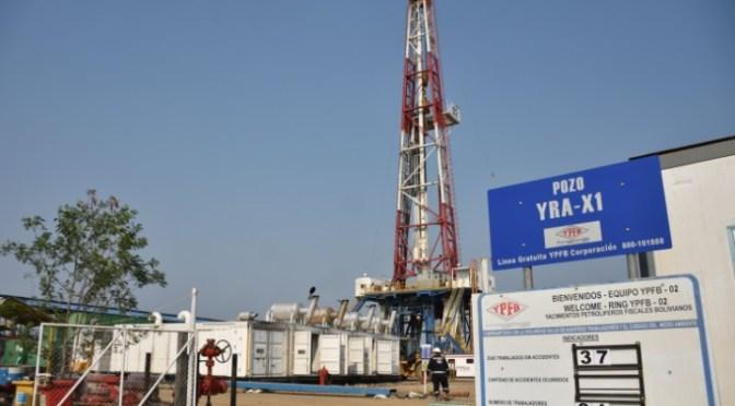 YPFB halla crudo y gas natural en el campo Yarará en Santa Cruz