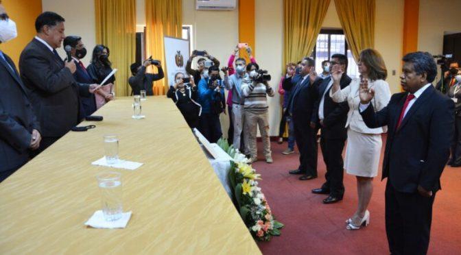 Posesionan a Wilson Tito como nuevo fiscal departamental de Tarija