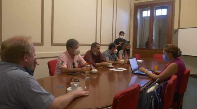 Ante Covid: Autoridades de la Gobernación y Ministerio de Salud sostiene reunión