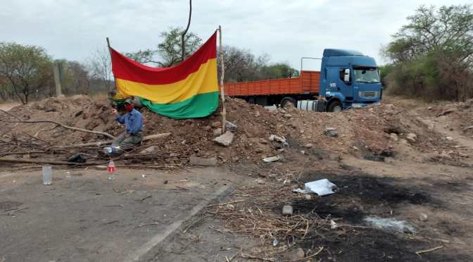 Transporte con perjuicios por bloqueos en el Chaco